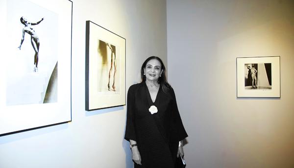 Patricia Conde, galerista. Foto: JC Arnauda