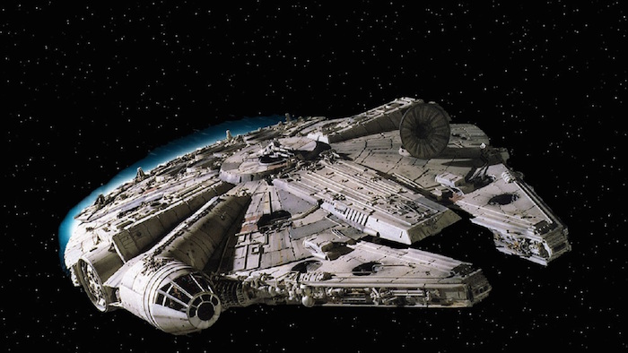El Halcón Milenario, de la saga StarWars