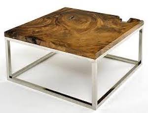 Irrepetibles y car simos muebles hechos con troncos y for Muebles con troncos