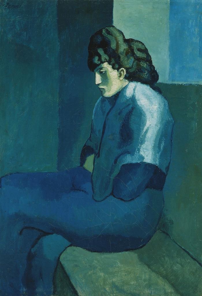 Mujer melancólica