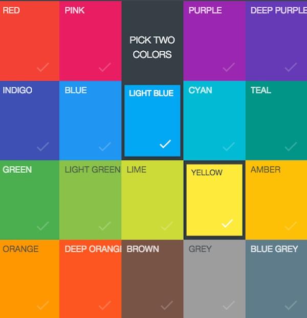 Escoge la paleta de colores para un dise o digital en s lo - Paleta de colores titanlux ...