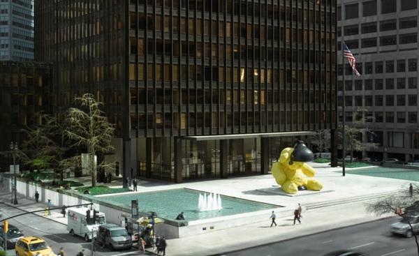 seagram plaza