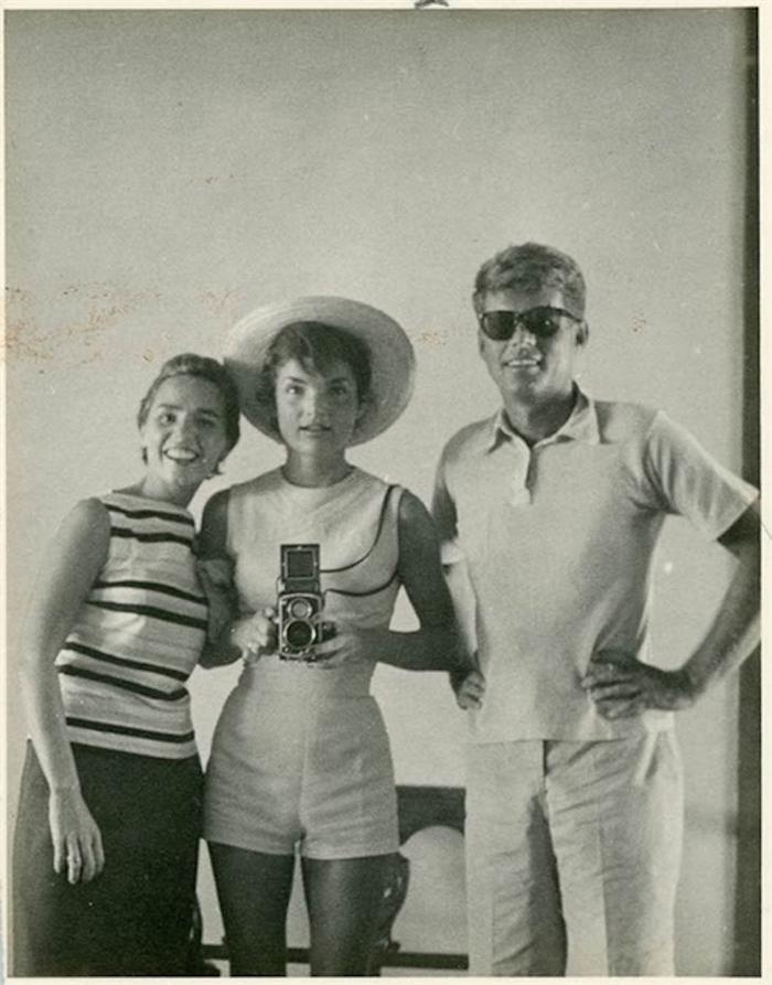 Jacqueline y John F. Kennedy