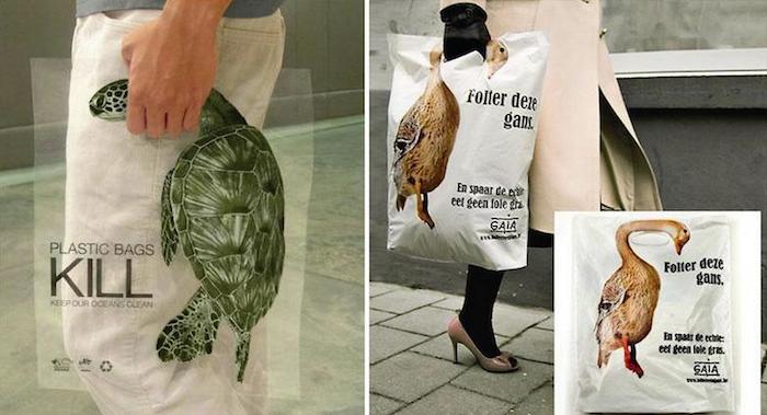 CAMPAÑA SOCIAL Plastic bags kill