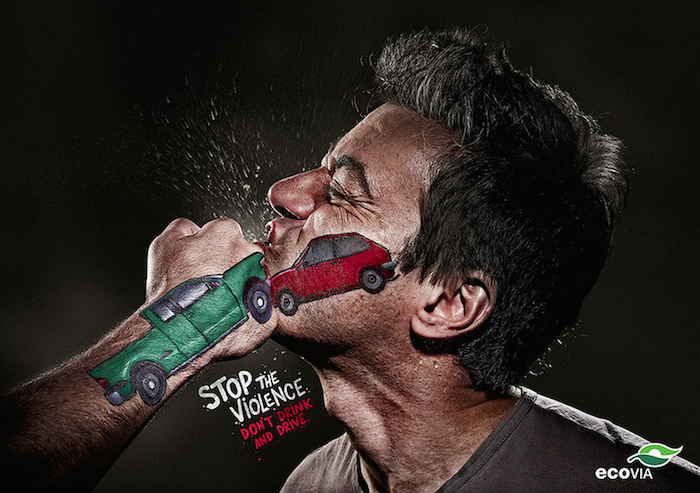 CAMPAÑA SOCIAL Stop the violence, don´t drink and drive