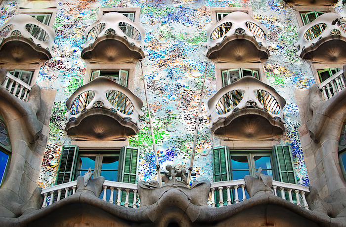 Casa Batlló, Barcelona, obra de Antonio Gaudí