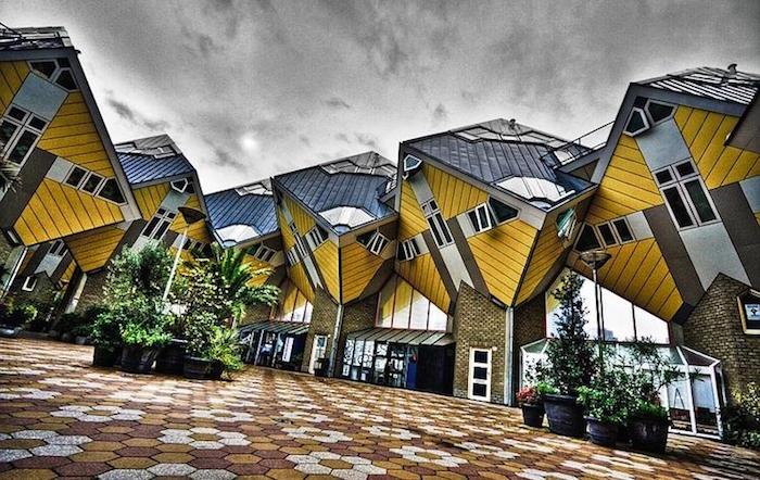 Casas Cubo, Rotterdam, Holanda