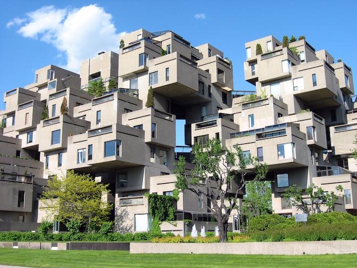 Conjunto Habitat 67, Montreal Canadá