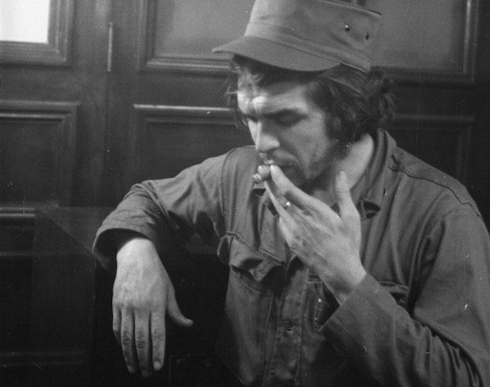 El comandante Ernesto Che Guevara, 1959, La Habana, Cuba.