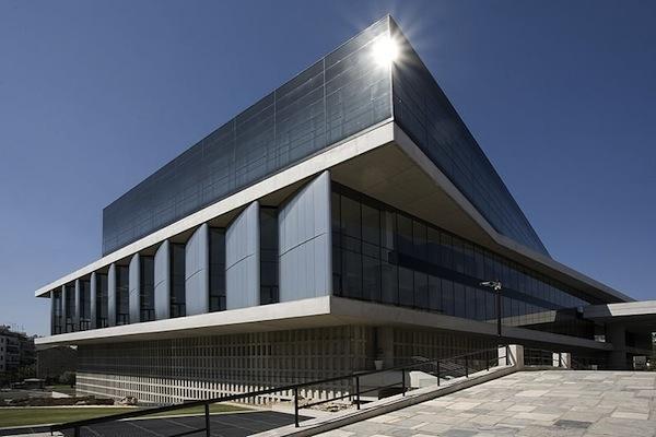 New Acropolis Museum, en Atenas de Bernard Tschumi.