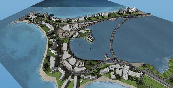 Imagen modelo 3D proyecto Punta Cancún