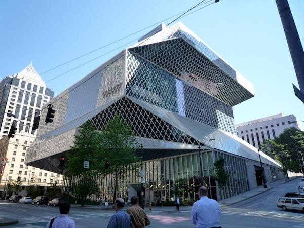 New Seattle Public Library, en Seattle de Rem Koolhaas.
