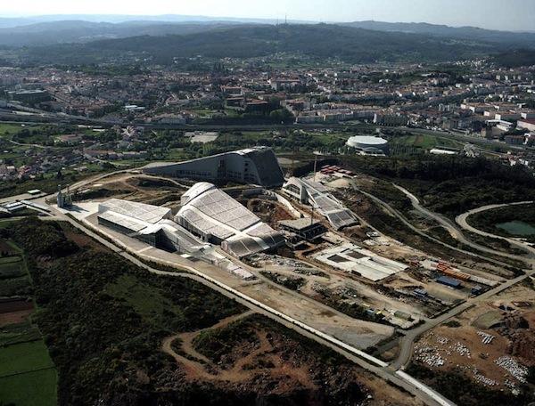 Ciudad de la Cultura, en Galicia de Peter Eiseman.