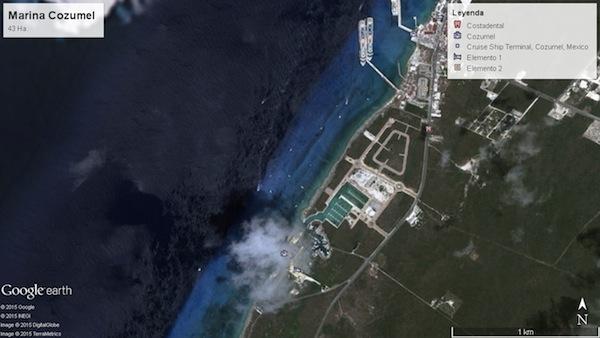 Imagen Google Earth, situación actual