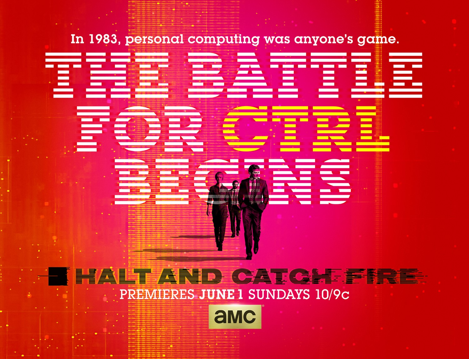 POSTER Halt and Catch Fire Various Directors Designed by Patrick Clair for Elastic