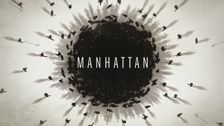 POSTER Manhattan Various Directors Designed by Dan Gregoras for Imaginary Forces