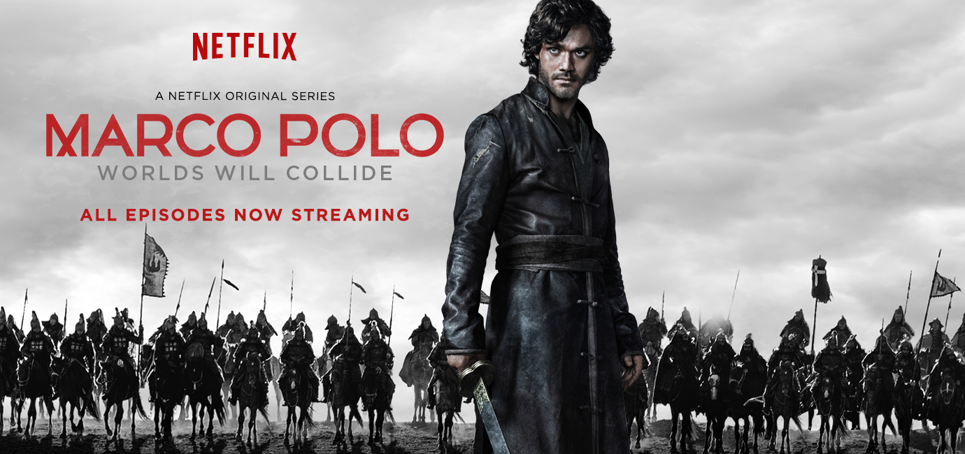 POSTER Marco Polo Various Directors Designed by Ben Smith & Bryce Wymer for Mill+