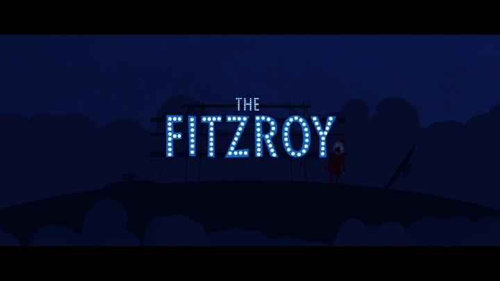 POSTER The Fitzroy Director- Andrew Harmer Designed by Chris Tozer and Marko Anstice