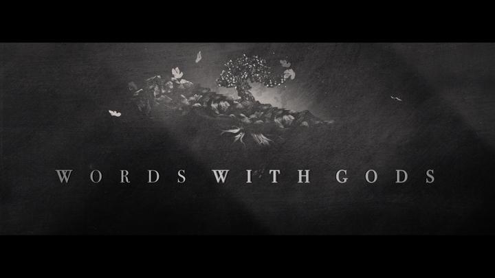 POSTER Words with Gods Various Directors Designed by Maribel Martinez Galindo for diecinueve36