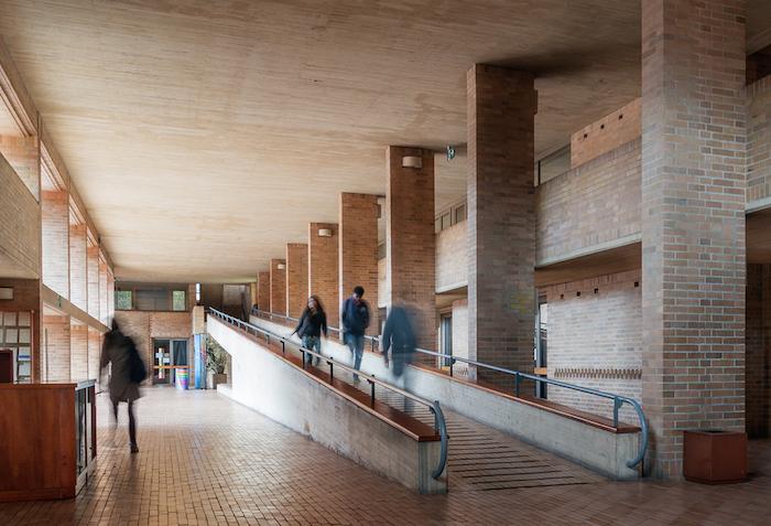 Edificio de Posgados de Ciencias Humanas, Universidad de Colombia