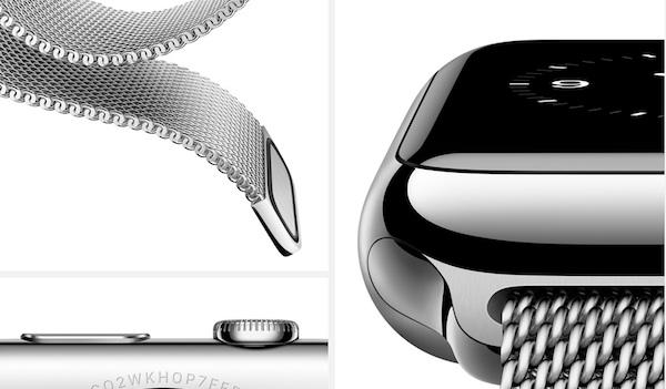 Detalles del Apple Watch