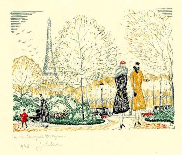 Les Jardins du Trocadéro, 1928