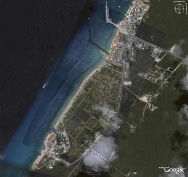 Fotomontaje del proyecto en Google.