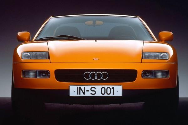 El concepto del Audi Quattro Spyder de 1991.