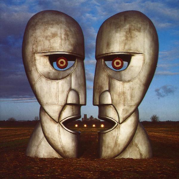 Portada del álbum de Pink Floyd, The Division Bell, 1994. Fue diseñada por Storm Thorgerson y Keith Breeden.