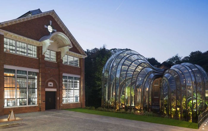 Architizer Destilería Bombay Sapphire, Reino Unido