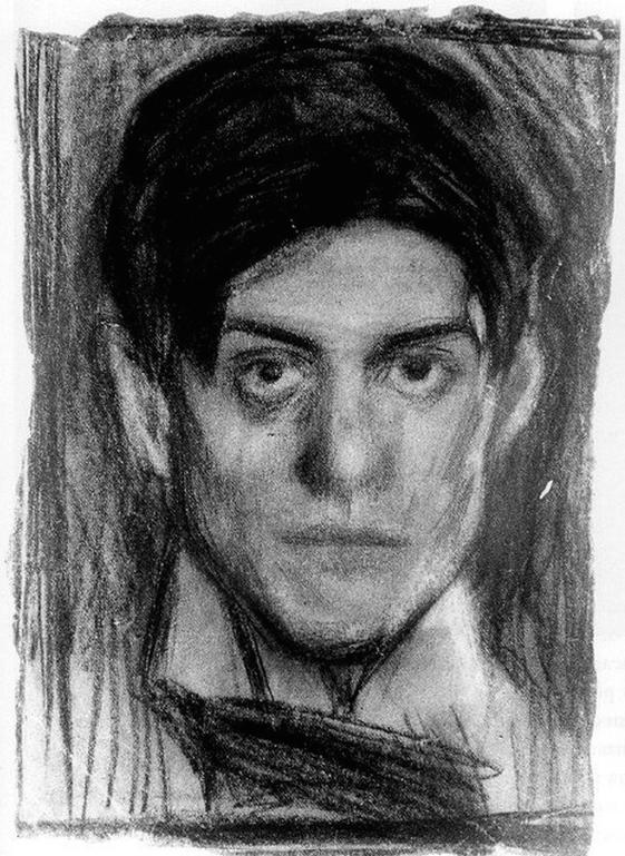 Pablo Picasso, autorretrato, 1899