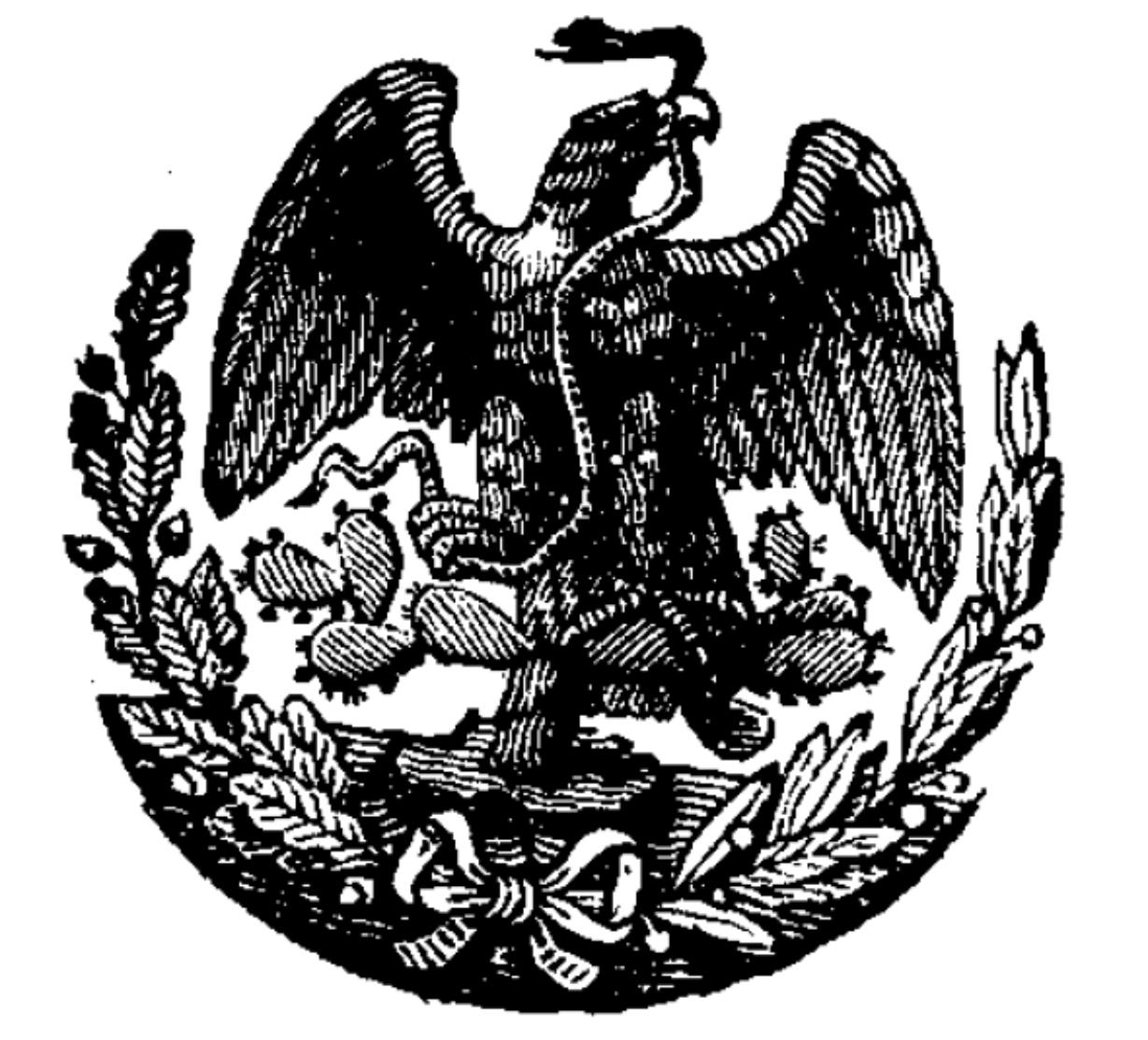 ESCUDO NACIONAL MEXIANO 1904