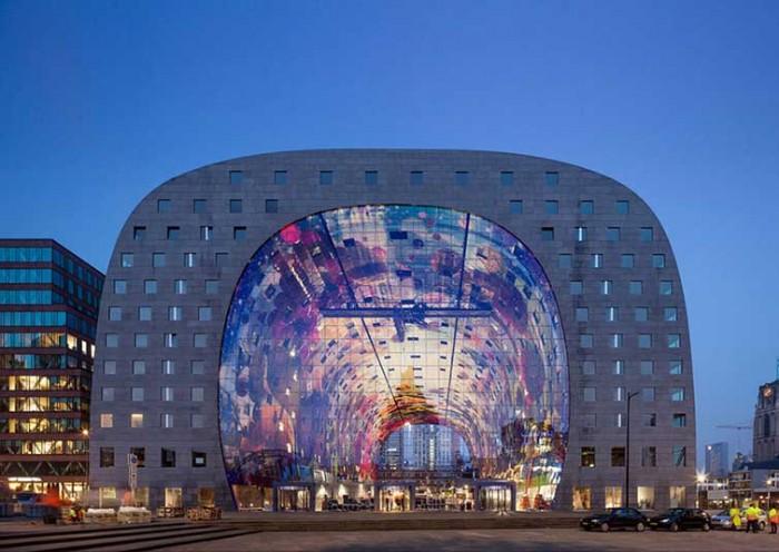 Market Hall In Rotterdam 01