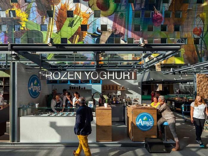 Market Hall In Rotterdam 03