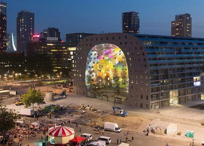 Market Hall In Rotterdam 08