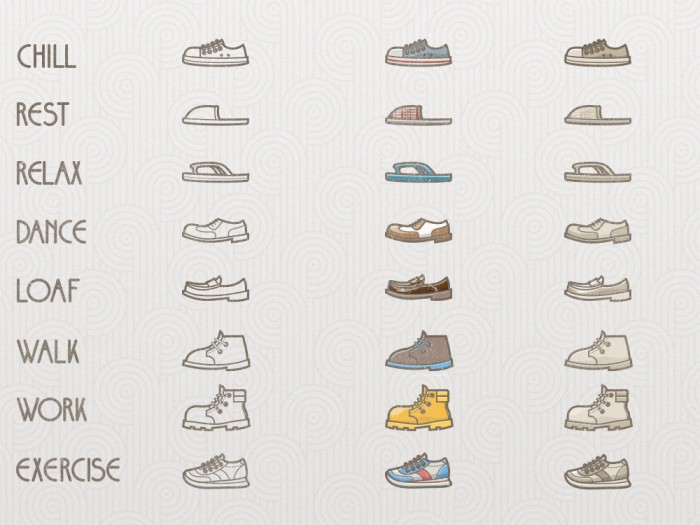 SHOES ICONS 01