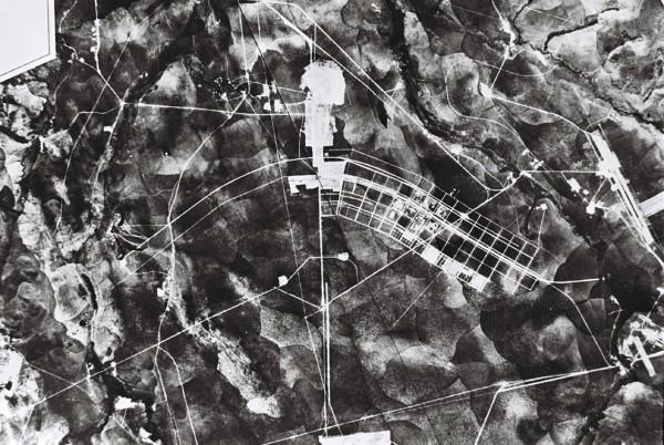 latin Brasilia en construcción, 1957. Geofoto. Arquivo Publico do Distrito Federal. Cortesía- MoMA