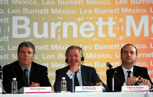 Horacio Navarro, Tom Bernardin y Pablo de Arteaga