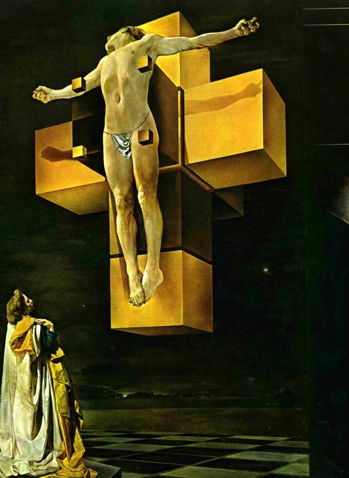 semana santa la crucifixi{on salvador dali