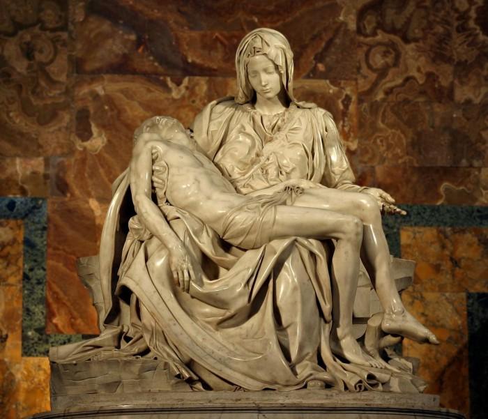 semana santa la piedad de miguel angel