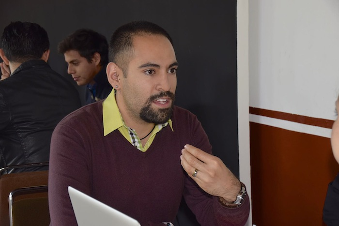 Ángel González de Factor tres