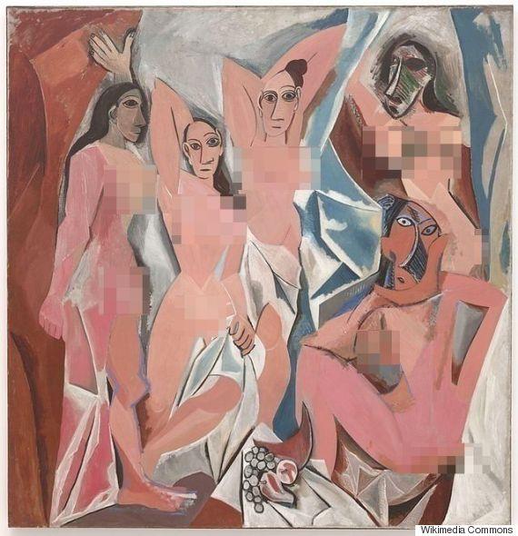 CENSURA Pablo Picasso, Les Demoiselles d'Avignon