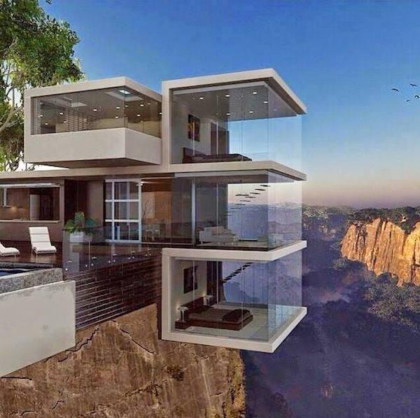 Arquitectura Que Reta A La Gravedad Y Al Vértigo