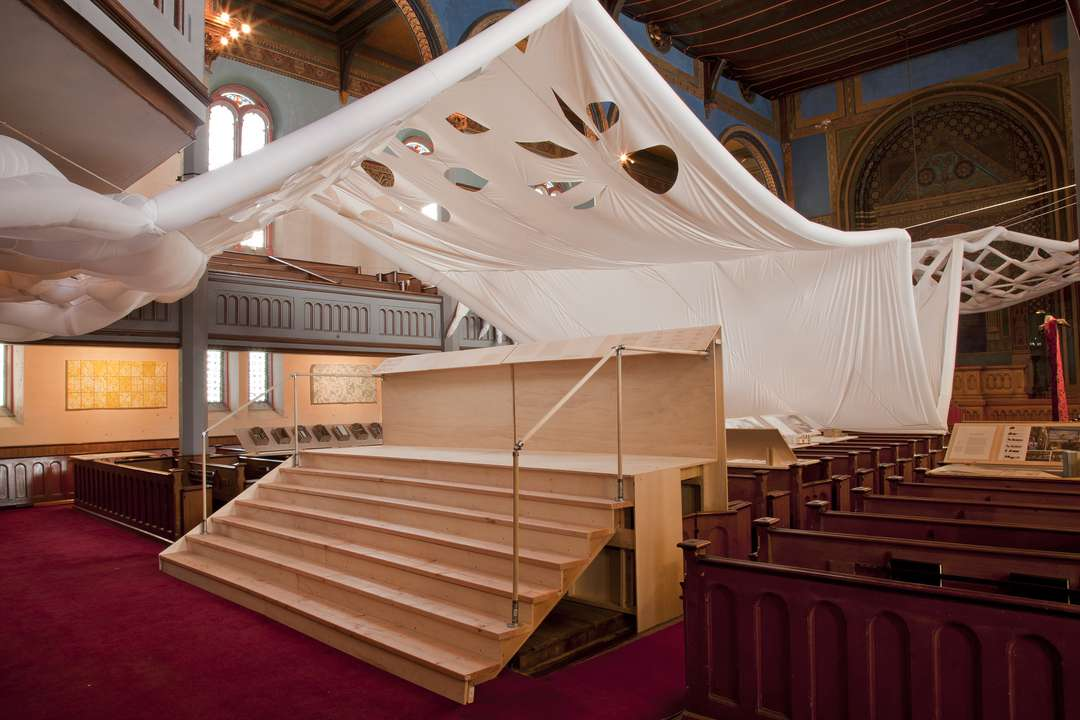 INFLABLES Newport Congregational Church- Soft Interventions by RISD Interior Architecture, Newport, R.I.