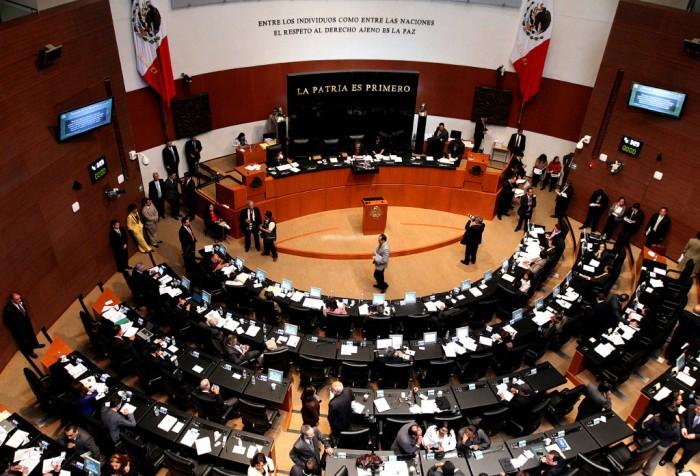 20426119. México, D.F.- Durante  la sesión ordinaria en el Senado de la Republica.  NOTIMEX/FOTO/BERNARDO MONCADA/BMR/POL/
