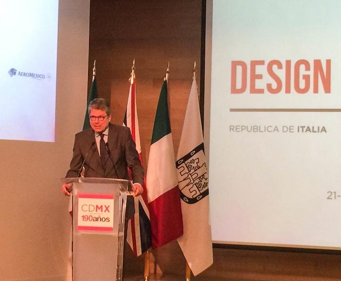 Alessandro Bussaca, embajador de Italia en México