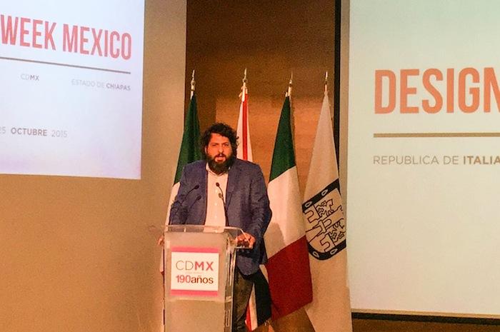 Juan Andrés Gaitán, director del Museo de Arte Contemporáneo Rufino Tamayo.