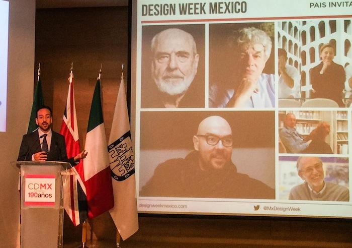 Emilio Cabrero, director del Design Week México