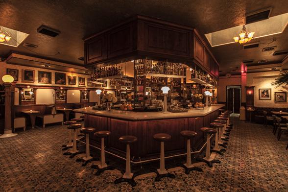 Harlowe (Los Angeles, CA). Diseñado por Wadeco Design and Bobby Green Design