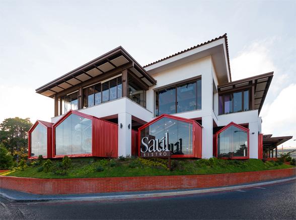 Saul Bistro (Guatemala, Guatemala)  diseño de Taller KEN.
